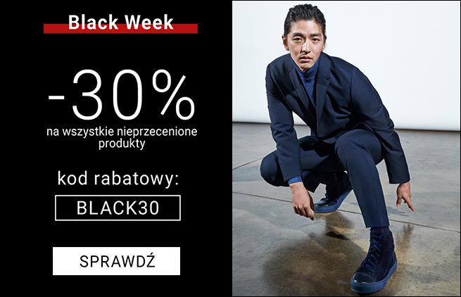 BLACK WEEK -30% na wszystkie nieprzecenione produkty - męskie