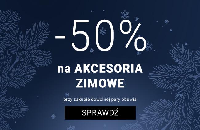 -50% - ZIMOWE AKCESORIA